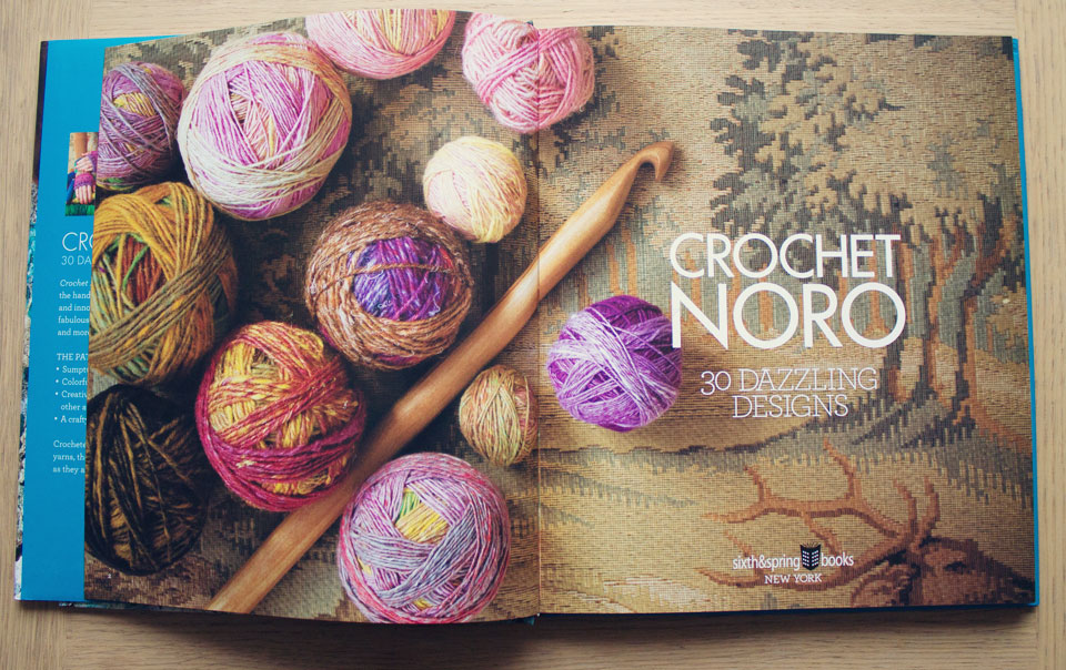 book review: crochet noro - a creative being