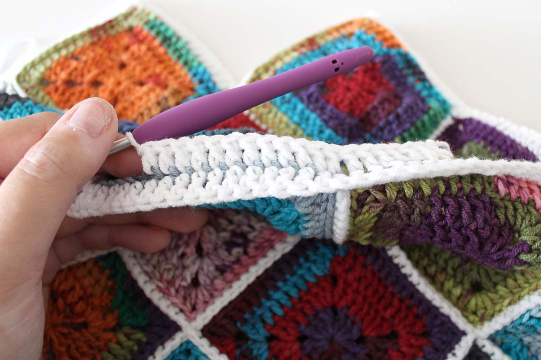 Crocheting Loops : ... loop or dc3tog like we did in step 4, but just keep going, crocheting