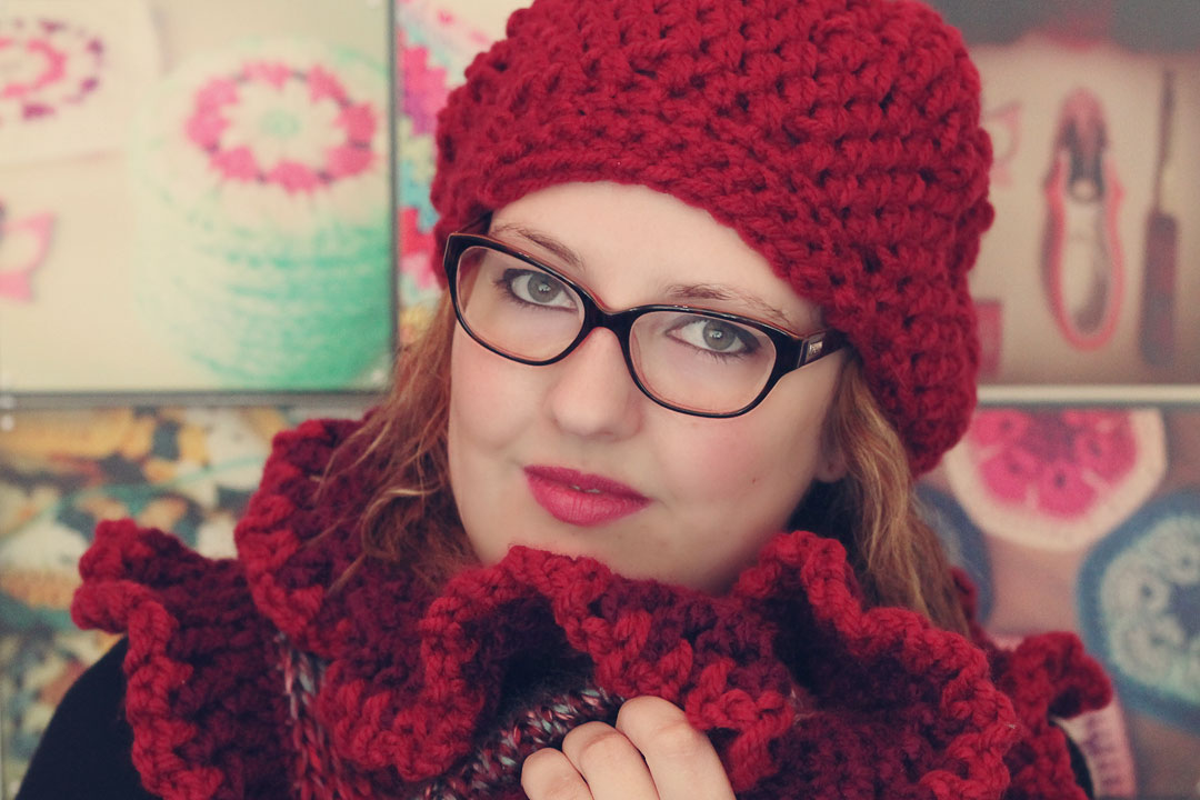 Free Crochet Chunky Newsboy Hat Pattern : free pattern: scheepjes slouch hat - a creative being