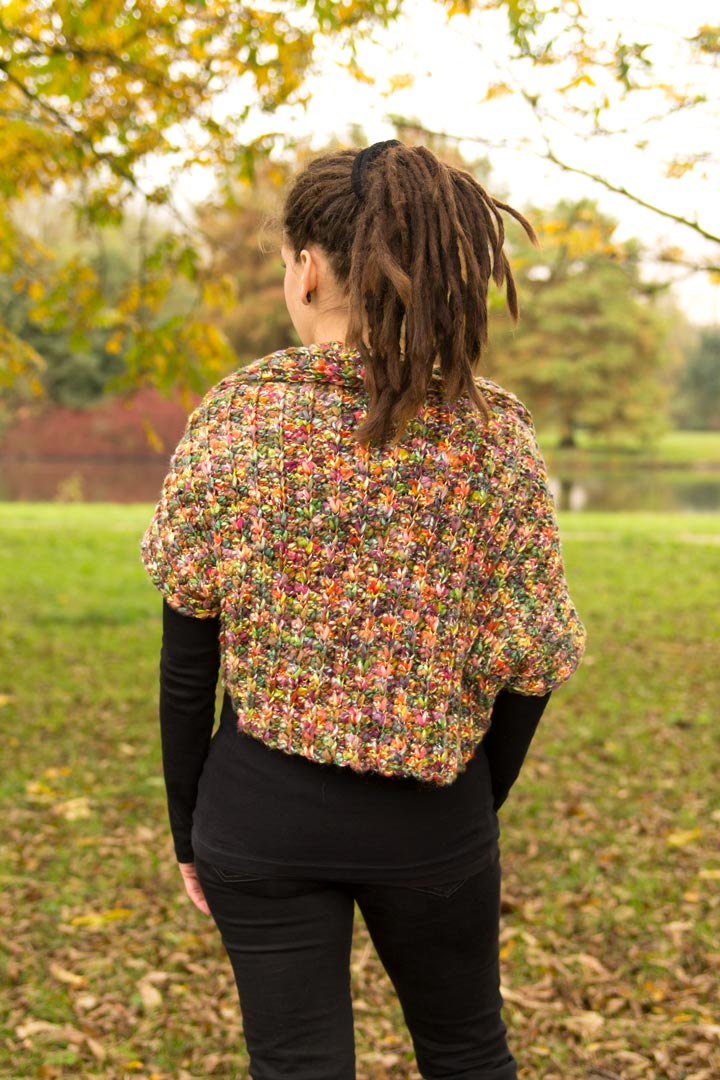 Free Pattern Ridged Verona Shrug A Creative Being